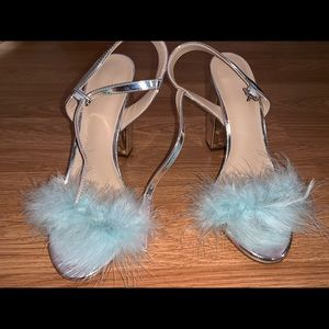 Furry Toed Shoes 👠